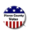 Pierce County Votes badge