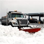 photo of a snow plow