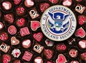 Box of Candy with Homeland Security Logo