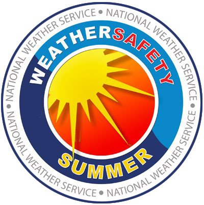National Weather Service Weather Safety Summer, picture of sun