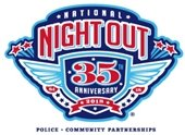 National Night Out 35th Anniversary Year Logo