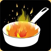 Grease Fire Icon
