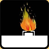 Natural Gas Fire Icon