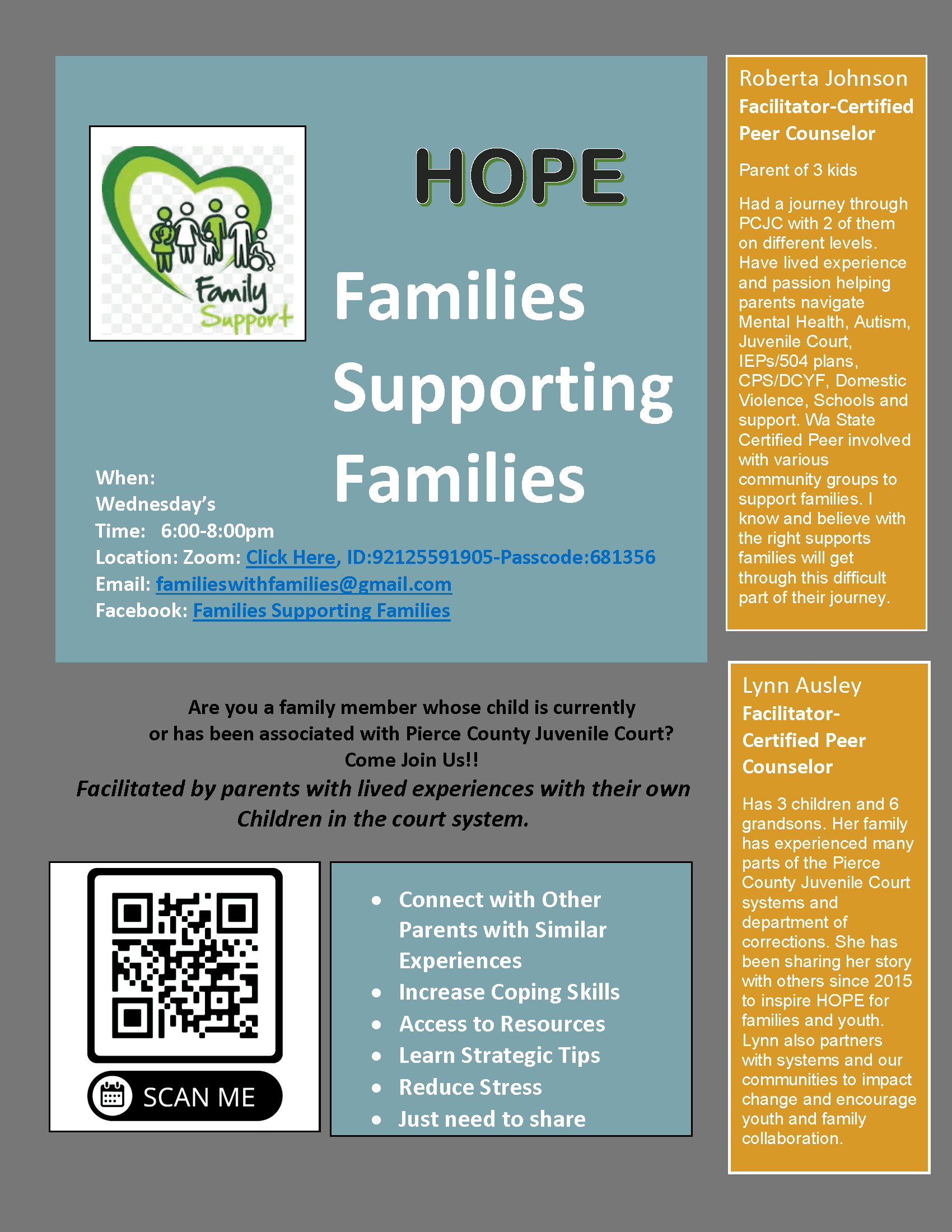 Families Supporting Families FINAL 2021 with QR Code
