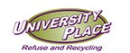 University Place Refuse and Recycling Logo