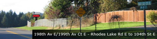 Banner image of roadway next to fence