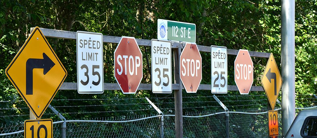 image of traffic signs
