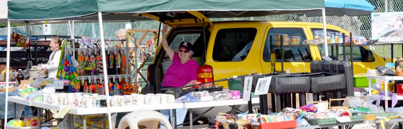 image of seller at Junk in the Trunk