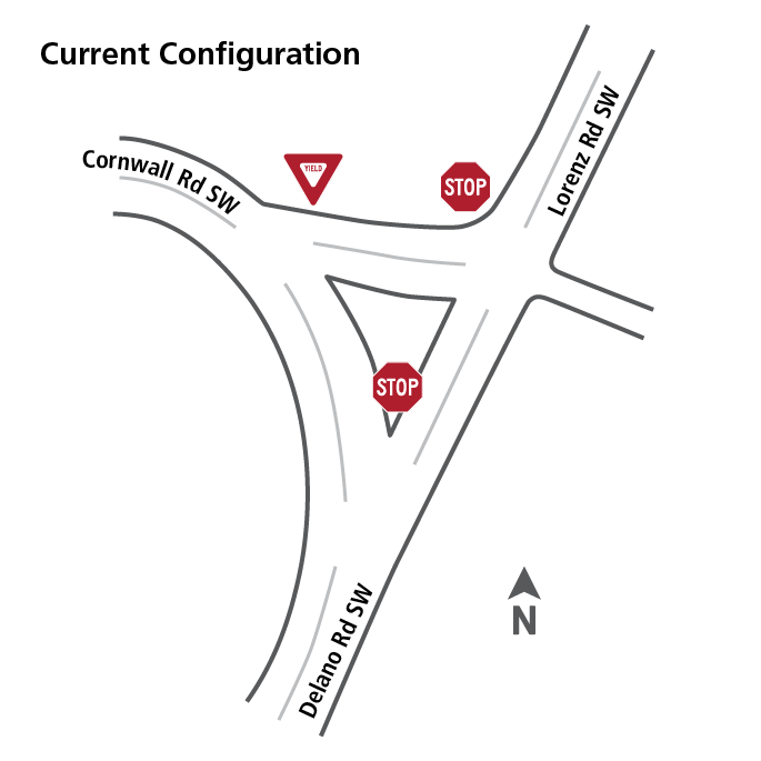 Existing traffic configuration