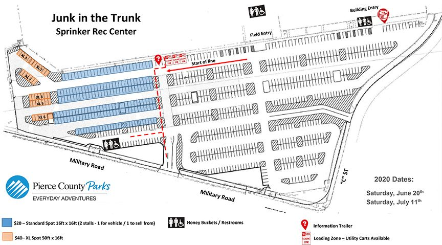 image of Junk Parking Lot map 2020