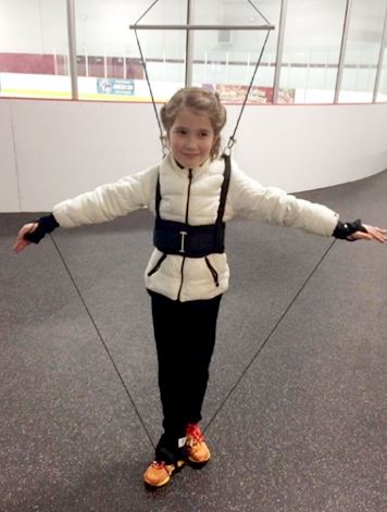 image of Off Ice Harness Class girl