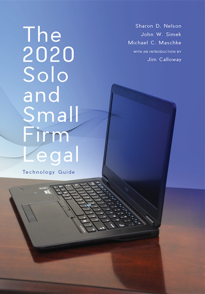 2020 Solo and Small Firm Legal Technology Guide