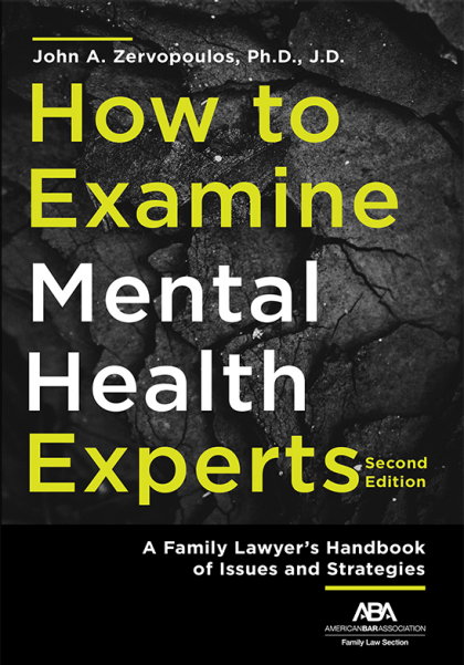 How to examine mental health experts