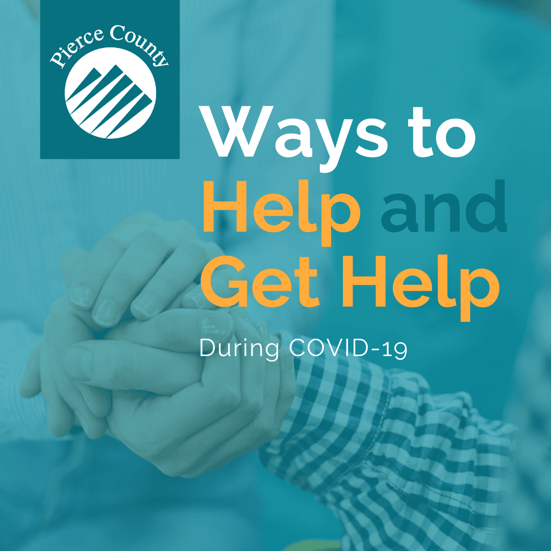 Ways to Help and Get Help