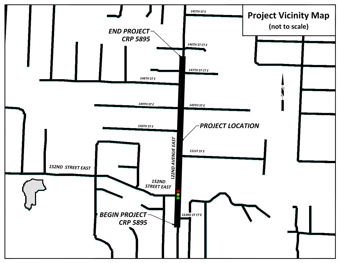 Image of the project vicinity map.