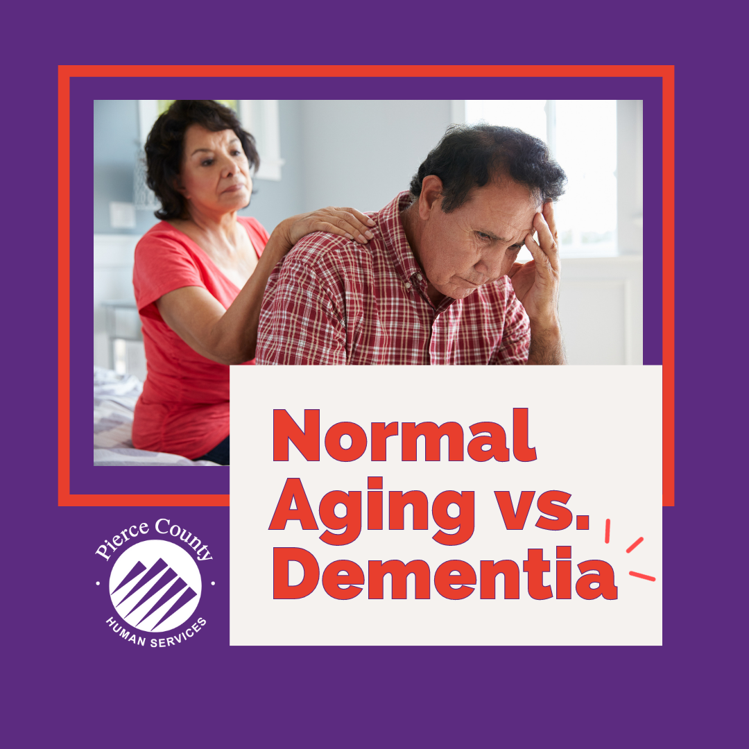 ADRC event - normal vs aging