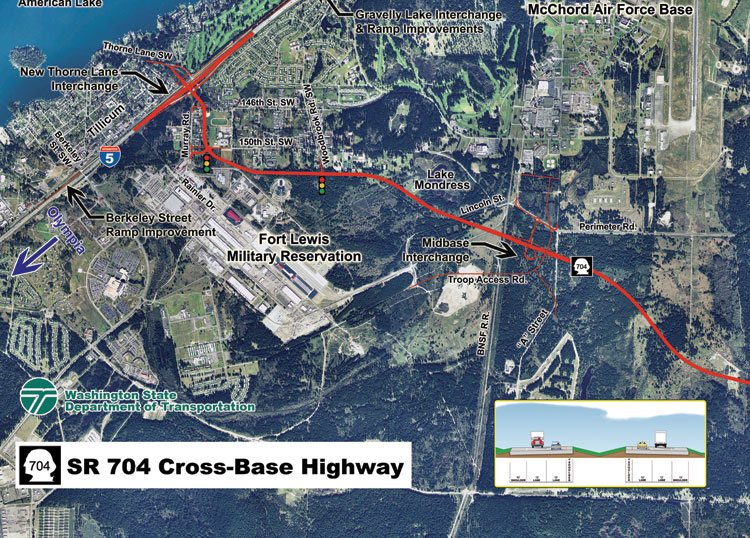 SR 704 - Cross-Base Highway Project