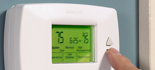 8. Buy A Programmable Thermostat