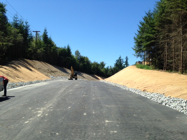 Paving the First Lift of Asphalt