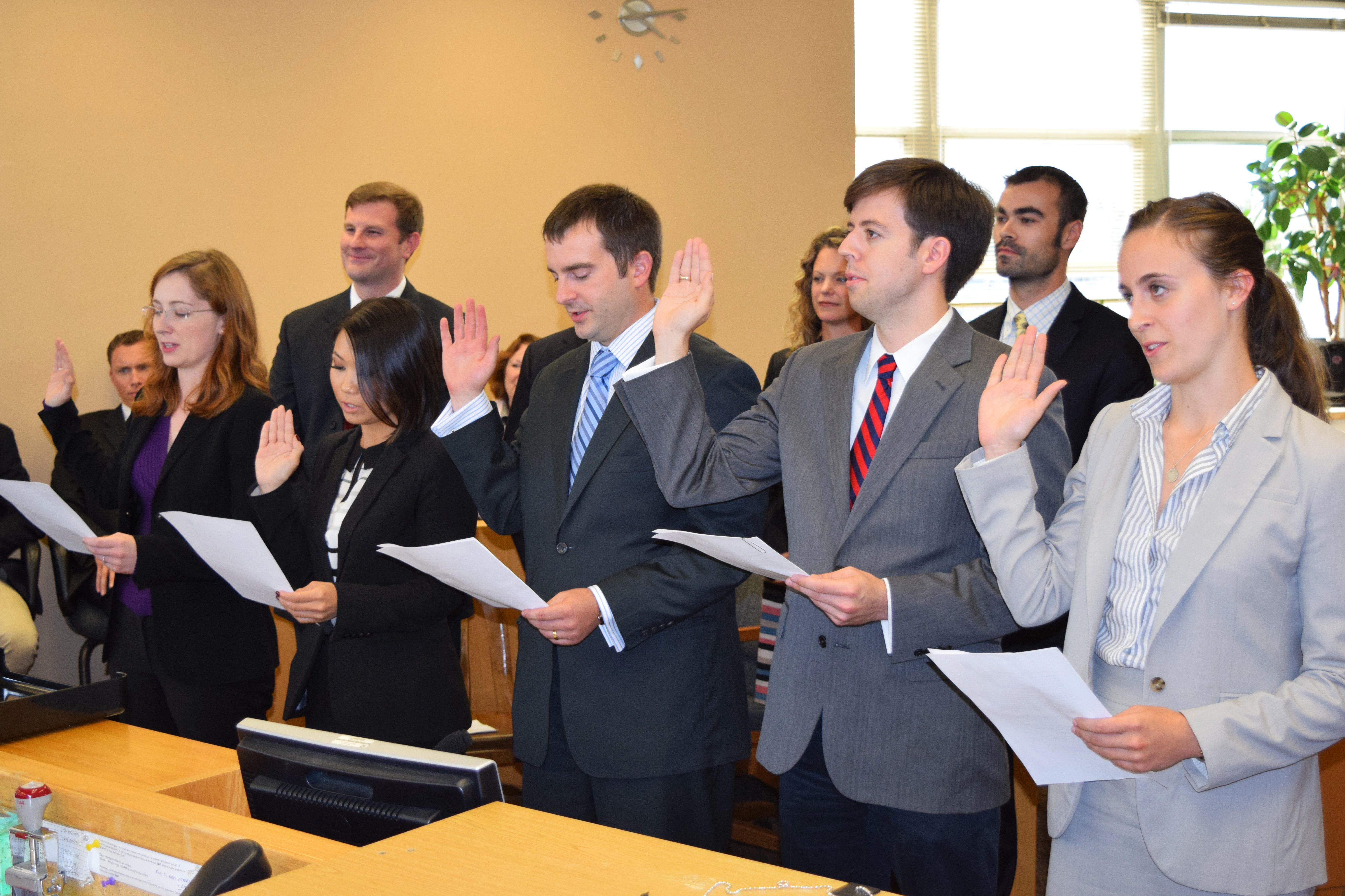 Attorneys swearing-in