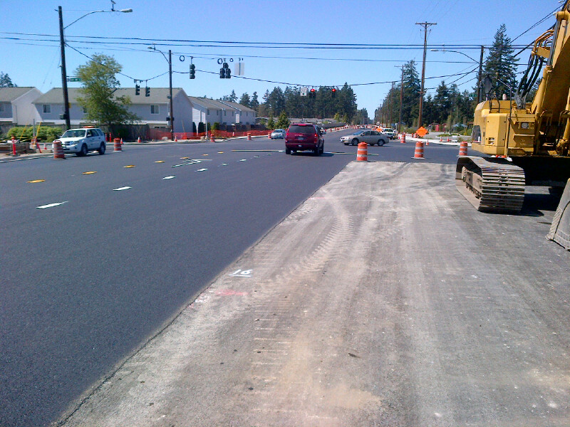 Rebuilt 176th & 22nd Intersection