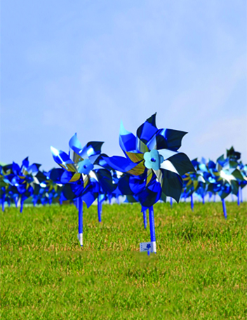 Prevention pinwheels