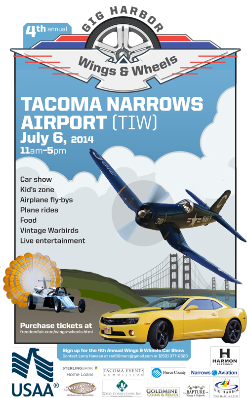 Wings and Wheels poster