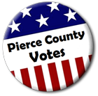 Pierce County I Voted Sticker