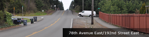 78th Ave E and 192nd St E