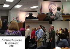 Appraisal Swearing-In Ceremony